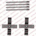 Zestaw akcesoriów klocków hamulcowych DELPHI LX0544