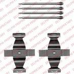 Zestaw akcesoriów klocków hamulcowych DELPHI LX0546