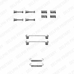Zestaw montażowy szczęk hamulcowych hamulca postojowego DELPHI LY1125