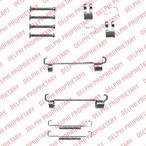 Zestaw montażowy szczęk hamulcowych hamulca postojowego DELPHI LY1344