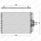 Chłodnica klimatyzacji - skraplacz DELPHI TSP0225061