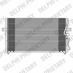 Chłodnica klimatyzacji - skraplacz DELPHI TSP0225608