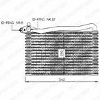Parownik klimatyzacji DELPHI TSP0525007