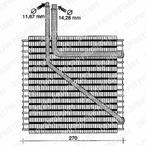 Parownik klimatyzacji DELPHI TSP0525058