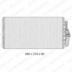 Parownik klimatyzacji DELPHI TSP0525076