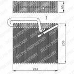Parownik klimatyzacji DELPHI TSP0525148