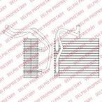 Parownik klimatyzacji DELPHI TSP0525198