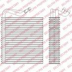 Parownik klimatyzacji DELPHI TSP0525202
