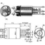 Włącznik elektromagnetyczny, rozrusznik MAGNETI MARELLI 940113050460