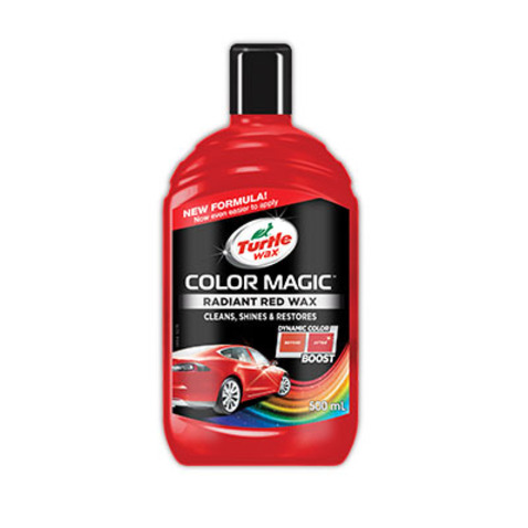 Wosk czerwony TURTLE WAX Color Magic 500ml AMTRA 70-203
