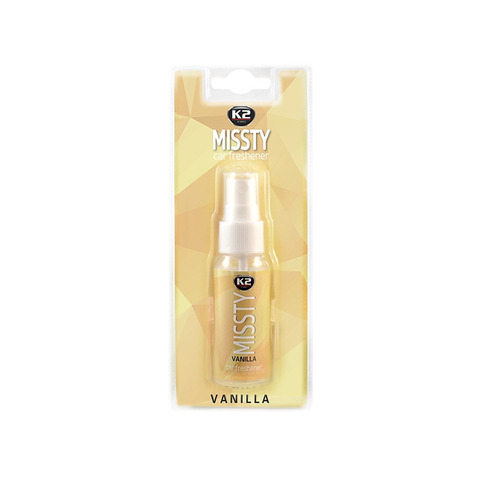 Zapach samochodowy K2 Missty 30 ml vanilla