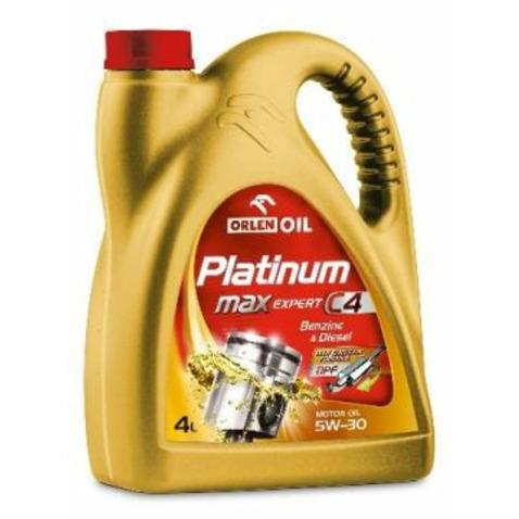 Olej ORLEN Platinum MaxExpert C4 5W30 4 litry ORLEN 5W30/4/PLATINUMMEC4