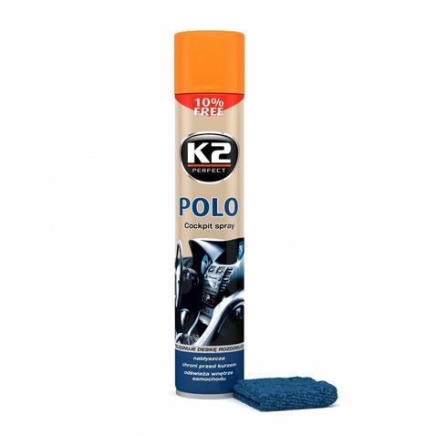 Spray do kokpitu K2 Polo Cocpit 750 ml (brzoskwinia)