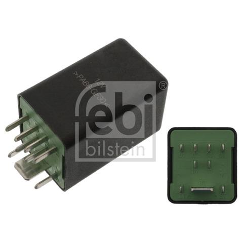Przekaźnik układu ogrzewania wstępnego FEBI BILSTEIN 100656