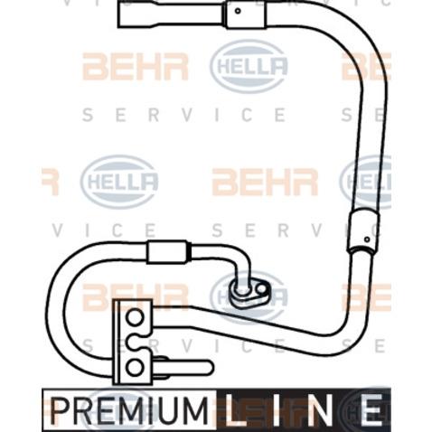 Przewód ciśnieniowy klimatyzacji BEHR HELLA SERVICE 9GS 351 337-281