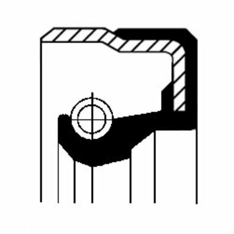 Pierścień uszczelniający CORTECO 01029658B