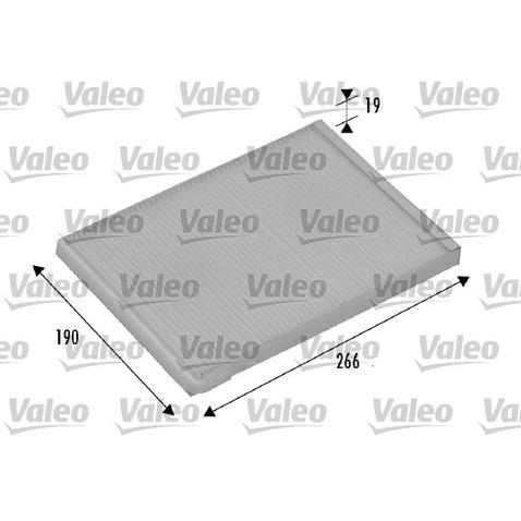 Filtr kabinowy VALEO 698731