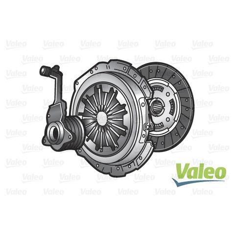 Sprzęgło - komplet VALEO 834112