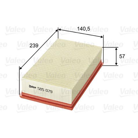 Filtr powietrza VALEO 585079