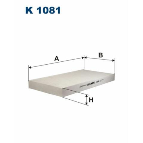Filtr kabinowy FILTRON K 1081
