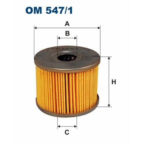 Filtr hydrauliczny automatycznej skrzyni biegów FILTRON OM 547/1