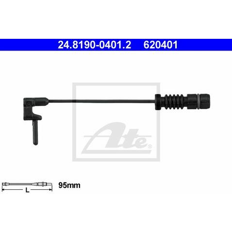 Czujnik zużycia klocków hamulcowych ATE 24.8190-0401.2