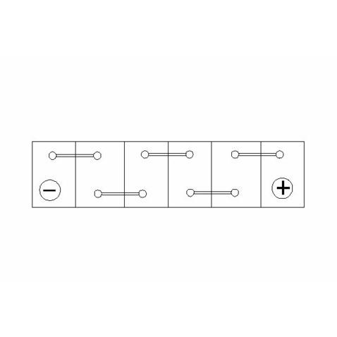 Akumulator BOSCH 0 092 S5A 130