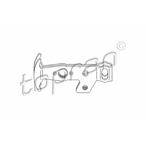 Zestaw naprawczy dźwigni zmiany biegów TOPRAN 111 566