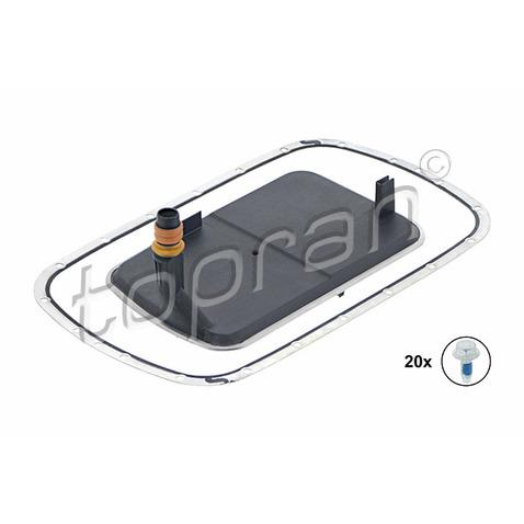 Zestaw filtra hydraulicznego automatycznej skrzyni biegów TOPRAN 502 751
