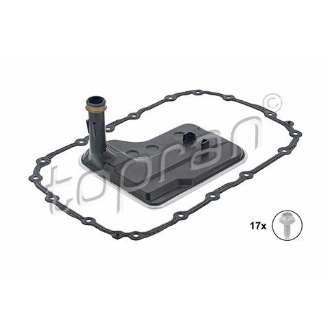 Zestaw filtra hydraulicznego automatycznej skrzyni biegów TOPRAN 502 753
