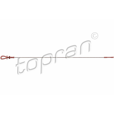 Miarka olejowa TOPRAN 409 237