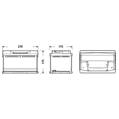Akumulator CENTRA CB712
