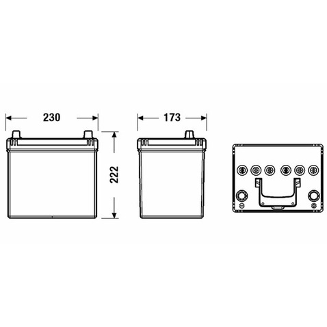 Akumulator CENTRA CL604