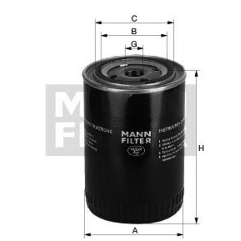 Filtr srodka chłodzącego MANN-FILTER WA 940/18