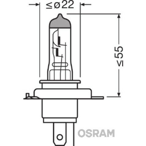 Żarówka OSRAM 64193NBL