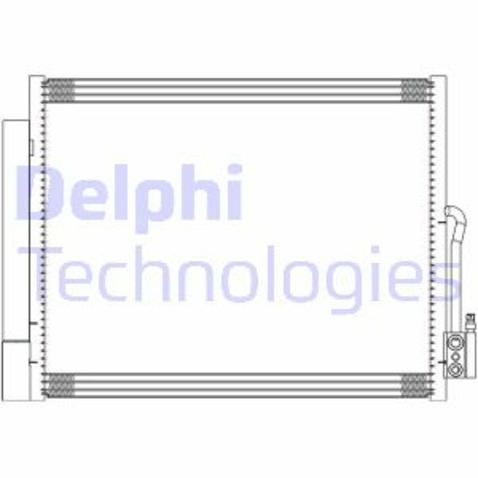 Chłodnica klimatyzacji - skraplacz DELPHI CF20294