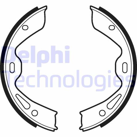 Szczęki hamulcowe hamulca postojowego - komplet DELPHI LS2120