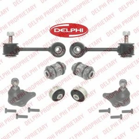 Wahacze - kompletny zestaw naprawczy DELPHI TC1970KIT